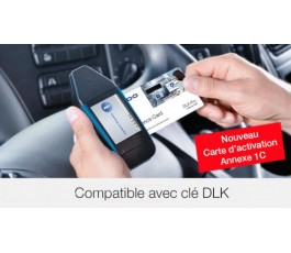 Carte activation 1C DLK PRO